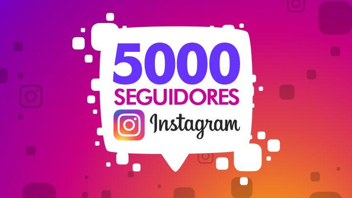 Comprar Followers 5000 Seguidores Instagram