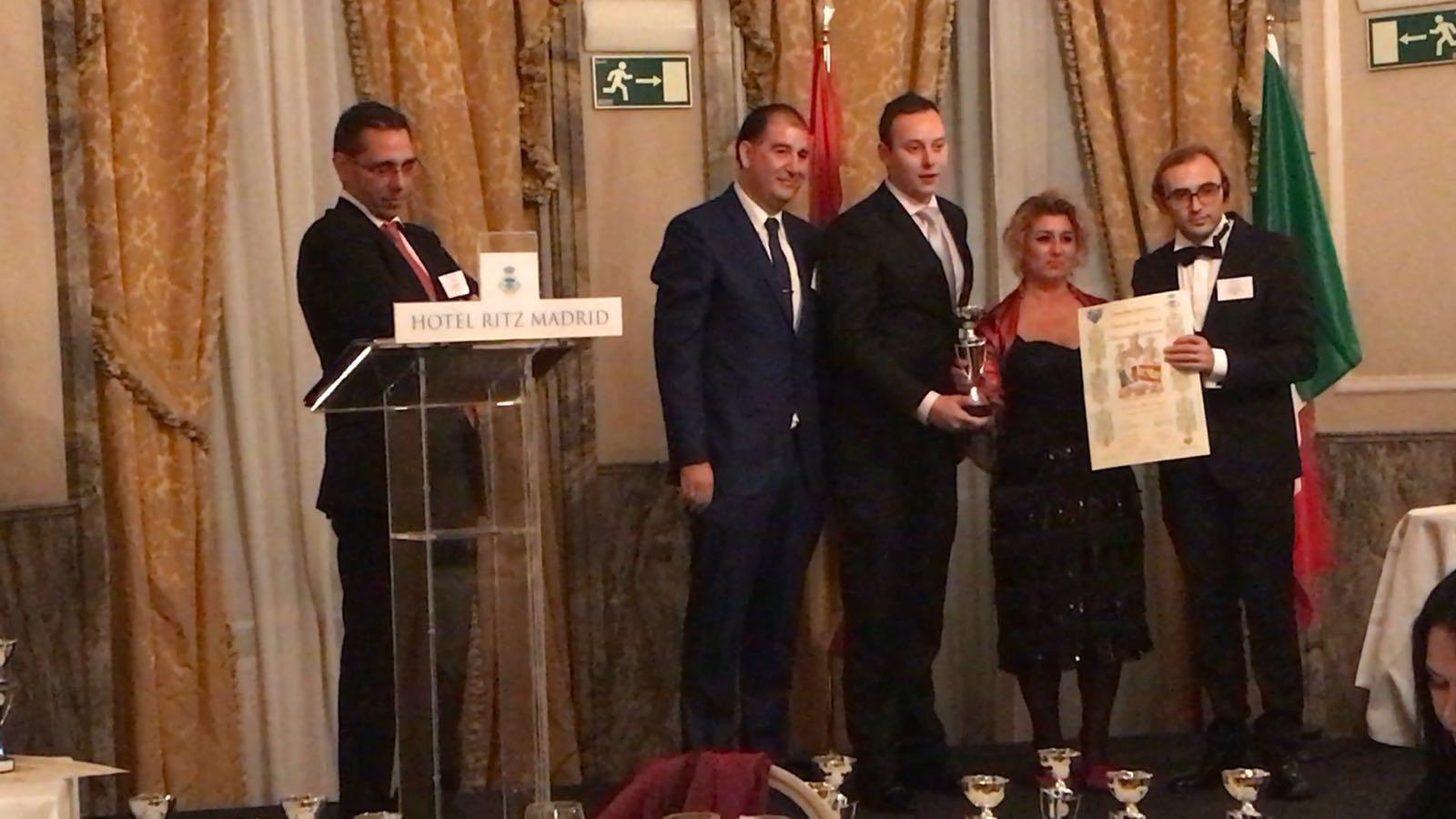Premio International Award Talent and Professionals Derecho Penal