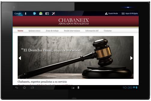 Crear una web para un despacho de abogados